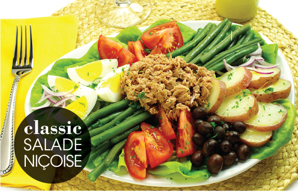 Classic Salade Niçoise Recipe — Dishmaps