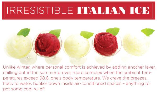 Irresistible Italian Ice
